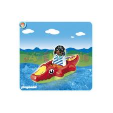 Playmobil Krokodilúszós kislány - 6764 játékfigura
