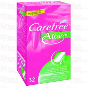 Carefree Tisztasági Betét Aloe Vera 32db