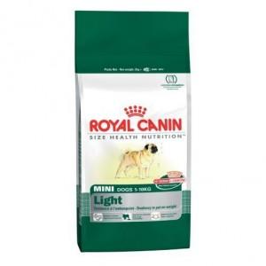 Royal Canin MINI LIGHT kutyatáp 8 kg
