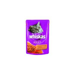 Whiskas Adult macskaeledel 100 g lazaccal