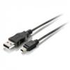 Equip 128521 USB 2.0 A-mini5P kábel, apa/apa, 1, 8m