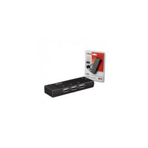 Trust Barra Mini - USB Hub (c.sz:15005; 4port; USB2.0; HU-4445p; fekete)