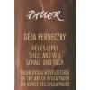 Perneczky Géza Héj és lepel / Shell and Veil / Schale und Tuch (CD melléklettel)