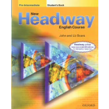 John Soars, Liz Soars New Headway Pre-Intermediate Class Audio CDs (The third edition) nyelvkönyv, szótár