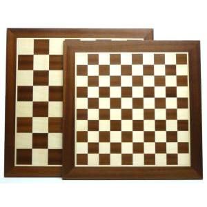 Hot Games Sakk/dáma tábla, intarziás, 45-35mm, 44 cm 660251