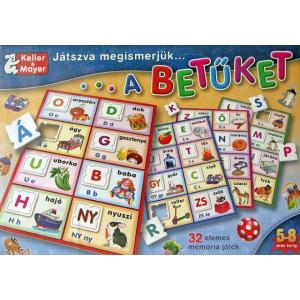 Keller & Mayer Játszva megismerjük - a betűket