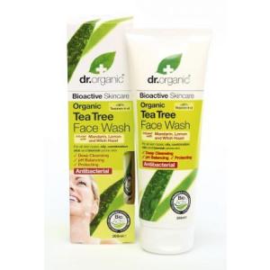Natur Dr. Organic Bio Teafa arclemosó 200 ml (BOR-00243)