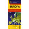 Cartographia Kft. EURÓPA TÉRKÉP /1:3750000