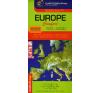 Cartographia Kft. EURÓPA COMFORT AUTÓTÉRKÉP 1:400 000 (LAMINÁLT) térkép