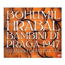 Parlando Hangoskönyvkiadó BAMBINI DI PRAGA 1947 - HANGOSKÖNYV - CD hangoskönyv
