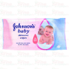 Johnsons Baby Ápoló Törlőkendő Utántöltő 64db