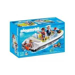 Playmobil - Családi motorcsónak (4862)