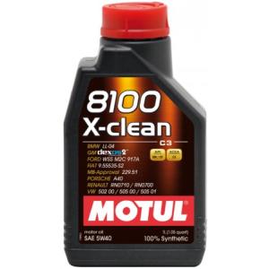 Motul 8100 X-clean 5W40