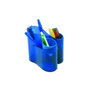 ICO Írószertartó ico lux kék műanyag