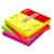 APLI Öntapadó jegyzettömb - neonsárga,100 lap