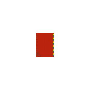 DONAU Műanyag színes regiszter, 1-31