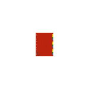 DONAU Műanyag színes regiszter, A-Z