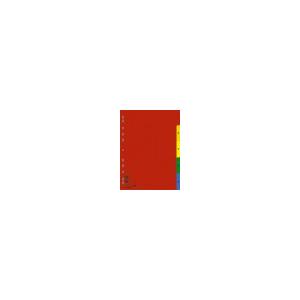 DONAU Műanyag színes regiszter, 1-5