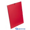 VIQUEL Standard piros PP gumis mappa 15mm