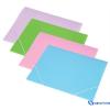 PANTA PLAST Gumis mappa pasztell rózsaszín A4