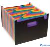 VIQUEL Rainbow Class 25 rekeszes harmonika iratrendező mappa