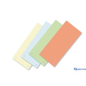 VICTORIA Karton elválasztócsíkok citromsárga 50db/csom