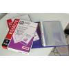 ESSELTE LUXUS lefűzhető víztiszta genotherm A4 55mik. db(100)