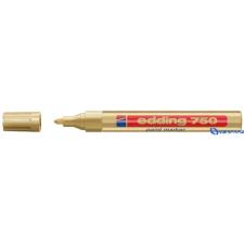 EDDING 750 lakkmarker arany filctoll, marker