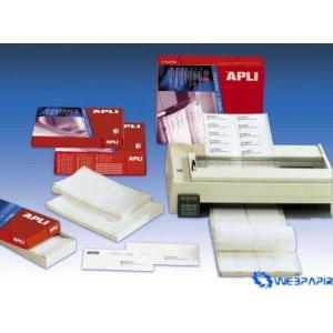 APLI 3 pályás mátrix etikett 66 x 10 6 mm 36.000 etikett/csomag 500 lap/csom