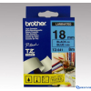 Brother 18 mm-es szalag kék alap/fekete betű