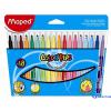 MAPED COLOR`PEPS mosható filctoll 18 db/doboz (karton csomagolás)