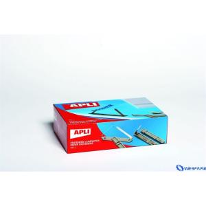 APLI Fém lefűzőlap 50 db/doboz 50db/csom