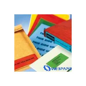 APLI 25 x 40 mm kézzel írható piros etikett 128 etikett/csomag