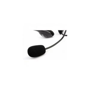 Modecom Logic LH-20 - Fejhallgató (mikrofon; hangerőszabályzó; 3.5mm jack; fekete)