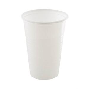 Műanyag fehér pohár 3 dl