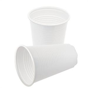 . Műanyag fehér pohár, 2 dl