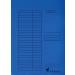 VICTORIA Papír gyorsfűző, kék