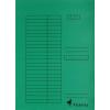 VICTORIA Karton pólyás dosszié, zöld