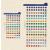 FILOFAX öntapadó színes szervezőcímkék, nagy
