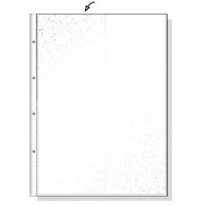 REXEL Lefűzhető, víztiszta, 50 mik.genotherm A4