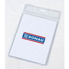 DONAU Azonosítókártya-tartó, hajlékony, függőleges névkitűző