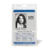 3L azonosító-kártya tartó műanyag, függöleges