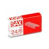 Sax 24/6 tűzőkapocs cink