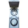GAO GAO mechanikus mini napi időkapcsoló óra konnektorba, 3680W, min. 30 perc, IP44