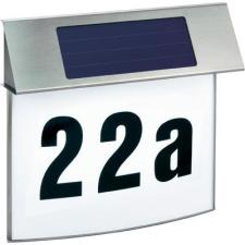 Esotec Esotec napelemes világítós házszámtábla, rozsdamentes acél, Vision 102200 LED kültéri világítás