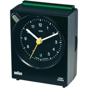 Braun Braun Voice Controll kvarc óra 63 x 76 x 34 mm fekete