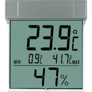 Conrad TFA digitális ablakhőmérő és páratartalom mérő, 30.5020