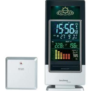 Conrad Techno Line vezeték nélküli digitális időjárásjelző állomás színes kijelzővel, WS 6502