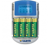 Varta Power Play LCD USB akkutöltő 4db ceruzaakkuval univerzális akkumulátor töltő