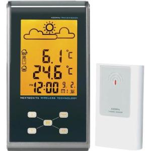 Conrad Rádiójel vezérlésű időjárásjelző állomás EFWS 301 Eurochron C8342+C8340T 80 m 433 MHz